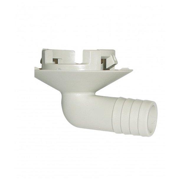 Studs til kondensafløb, Ø32 mm, til silikonetætning, 16 mm slange