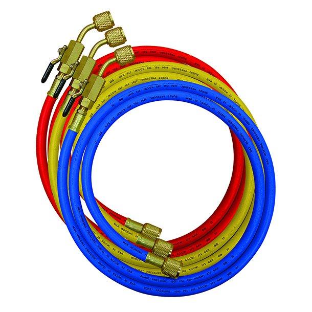 Slangesæt, 150 cm, m. CV ventiler, nylonbarriere til R32-R410A