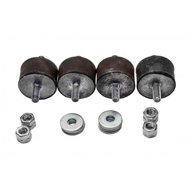 Vibrationsdæmper, 40-50 kg - 50 x 30 mm - 10 mm gevind - blød