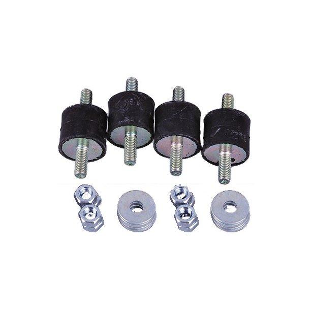 Vibrationsdæmper, 10-15 kg - 25 x 30 mm - 8 mm gevind - blød