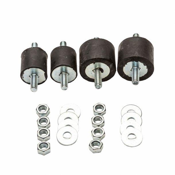 Vibrationsdæmper, 20-35 kg - 30-40 x 30 mm - 8 mm gevind - blød