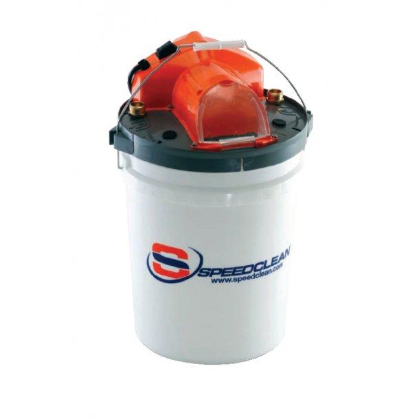 Afkalkningsmaskine til varmvandsbeholdere mm