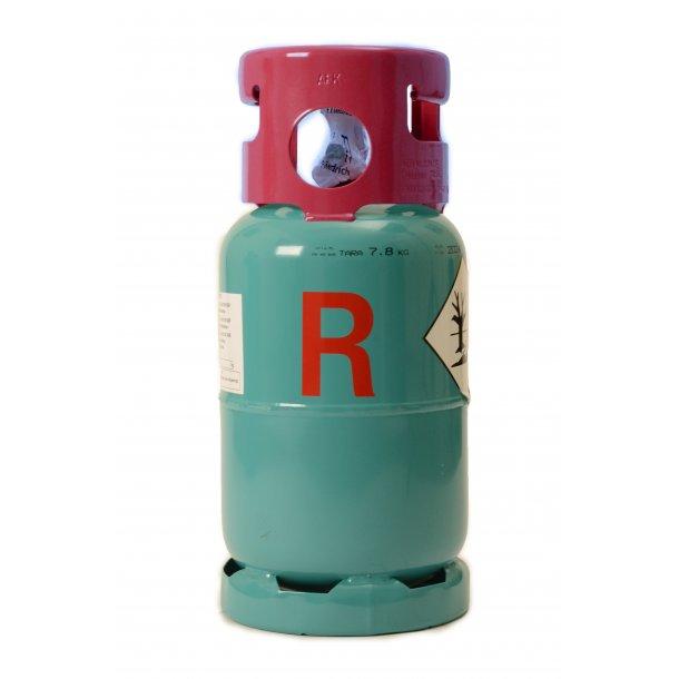Kølemiddelflaske 12,5 l - TOM, kun til R32, tømning af anlæg, ejeflaske