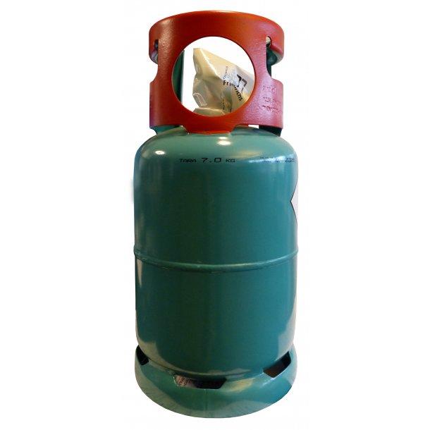 Kølemiddelflaske - kun til R32 - ekskl. fyldning, ejeflaske, 12 L - 1 ventil