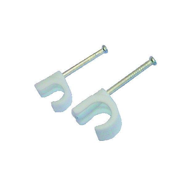 Kabelclips 10-14 mm, 100 stk