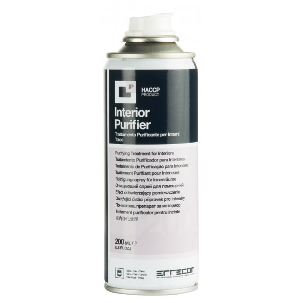 Interiørrenser, 200 ml, Talkumduft