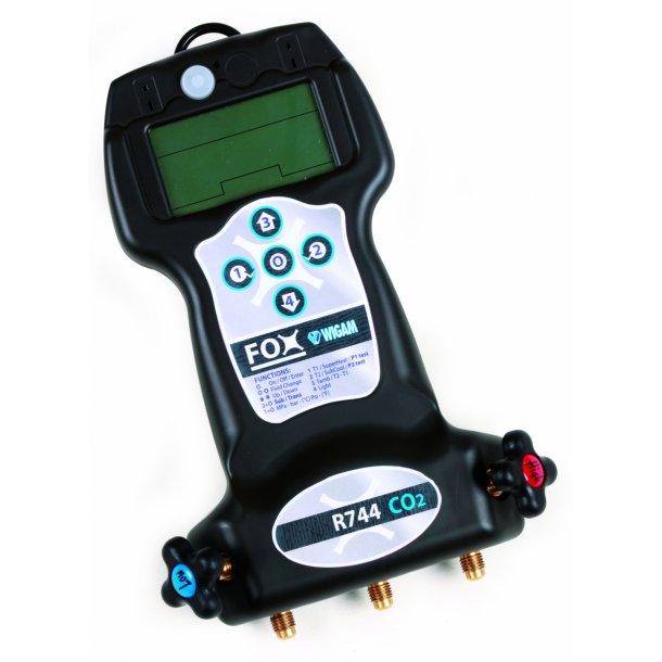 FOX-7, 2-vejs digital manifold til R744
