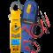 Kompakt tangamperemeter, sand RMS, med drejelig tang, trådløs