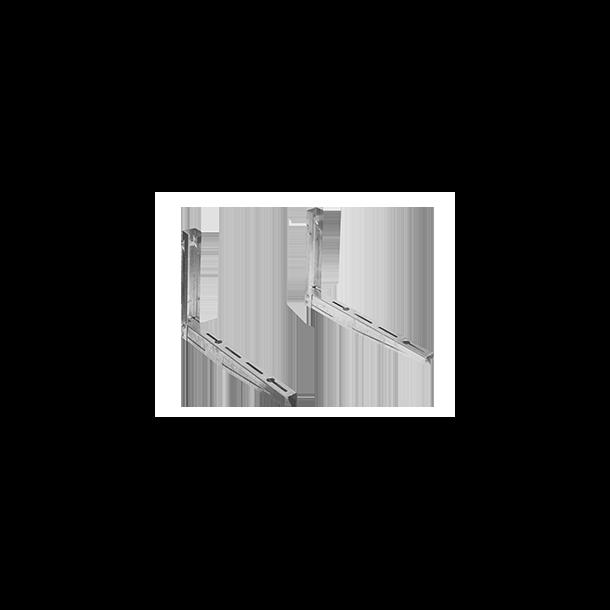 Vægkonsoller, varmgalvaniseret, separate, 580 x 400 mm