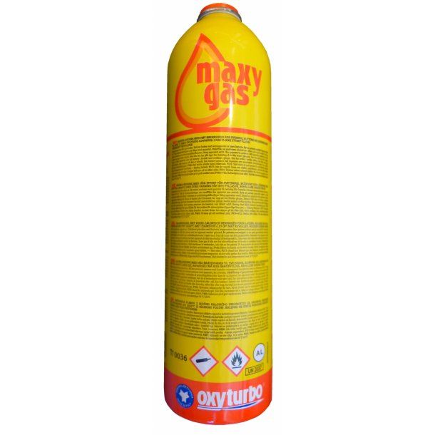 Maxy gas, engangsbeholder, 350g