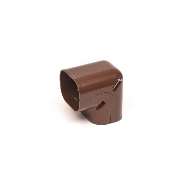 Qsantec, QC-vertikal vinkel, brun