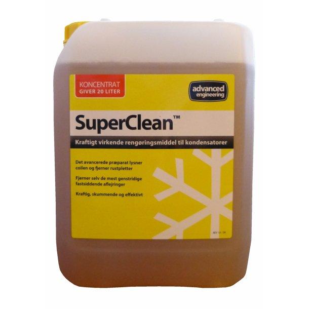 SuperClean, Heavy Duty kondensator rengøring, 5 l koncentreret
