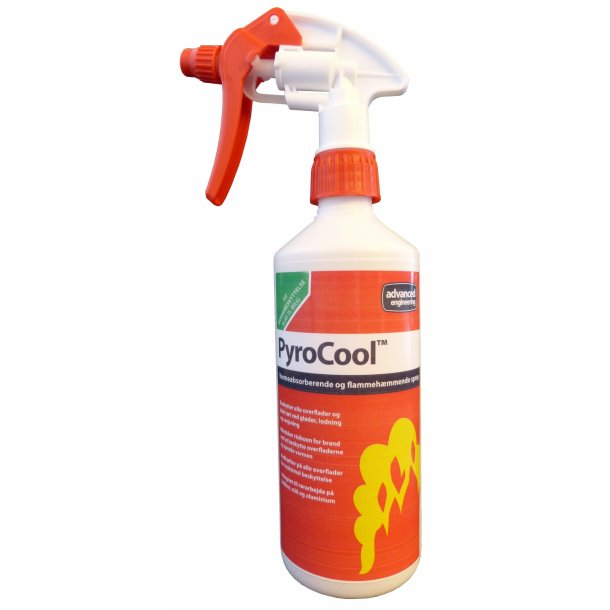 PyroCool, flammehæmmende spray beskyttelse, 0,5 l