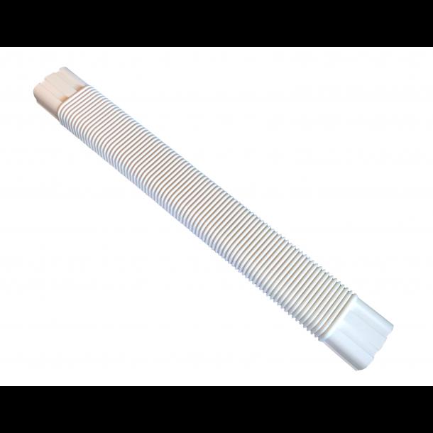 Inaba, SF-100, fleksibelt kanalstykke, L 800 mm, hvid