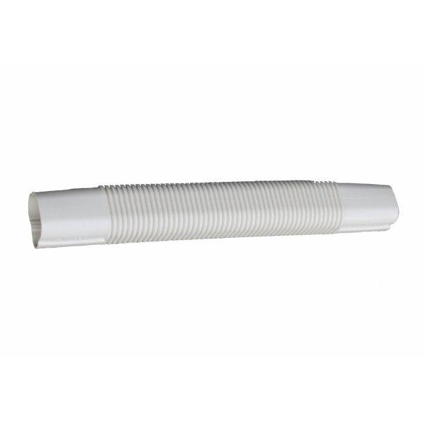 Inaba, SF-77, fleksibelt kanalstykke, L 500 mm, hvid