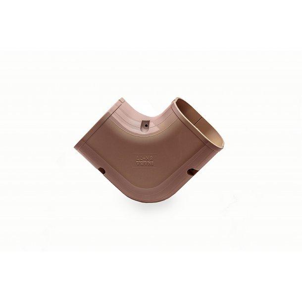 Inaba, SK-100, plan vinkel 90°, brun