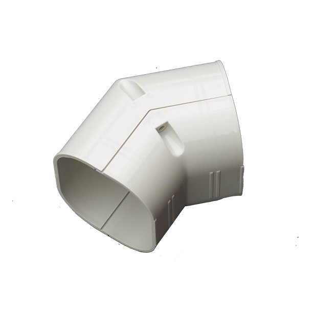 Inaba, SKF-77, plan vinkel 45°, hvid