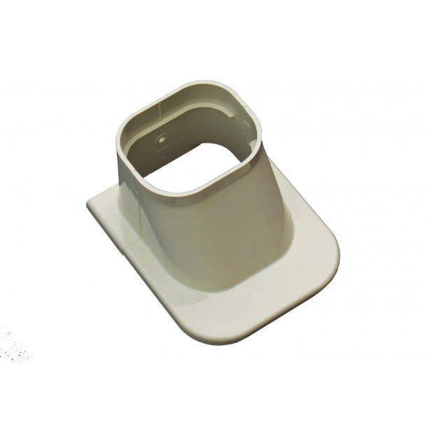 Inaba, SP-77 overgangsstykke til tag, beige