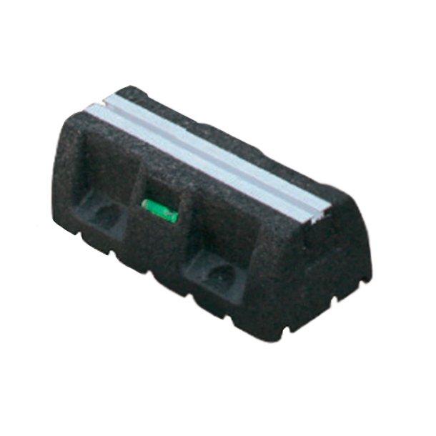 Montageblok, ekstremt vibrationsdæmpende, L=250 mm, med montageskinne
