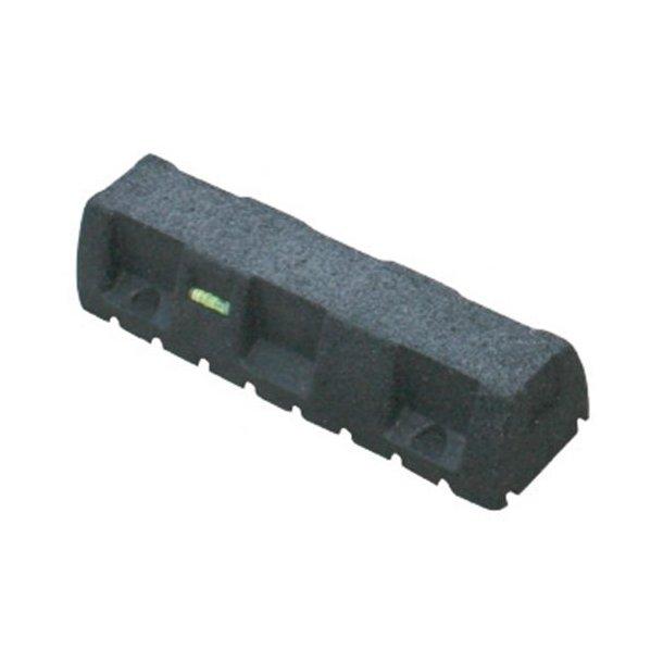 Montageblok, ekstremt vibrationsdæmpende, L=450 mm