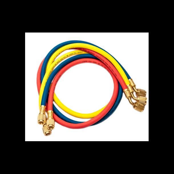 Slangesæt, 3p, HFC, ingen ventil, 0,9 m