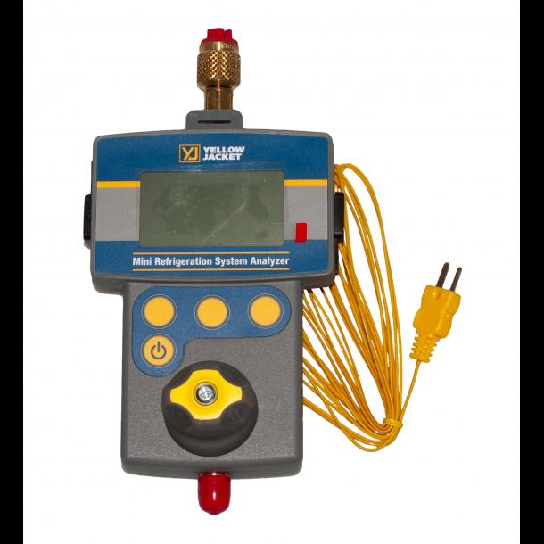 Digital kølemiddelanalysator, Yellow Jacket 1 vejs