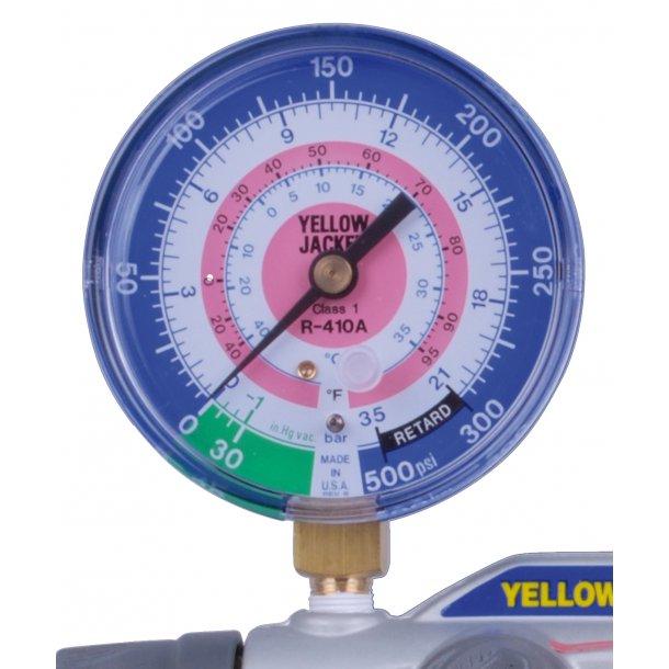 Manometer til YJ, 4-vejs man. R410A, LT
