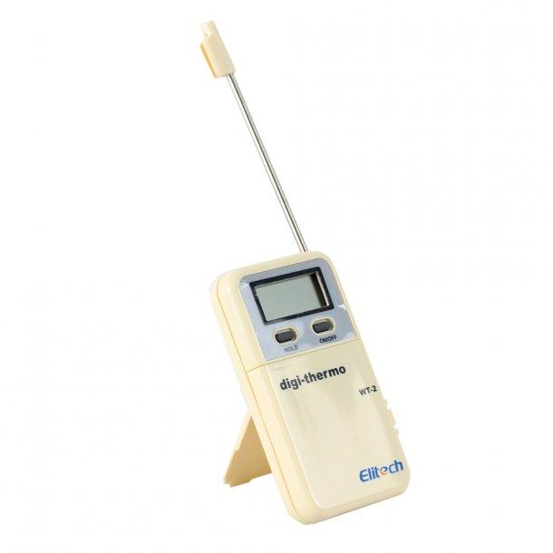 Digital termometer ET, med hukommelse og alarm