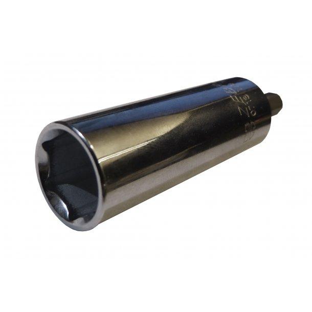 Top til sammenspænding af konsoller, 13 mm, ekstra dyb
