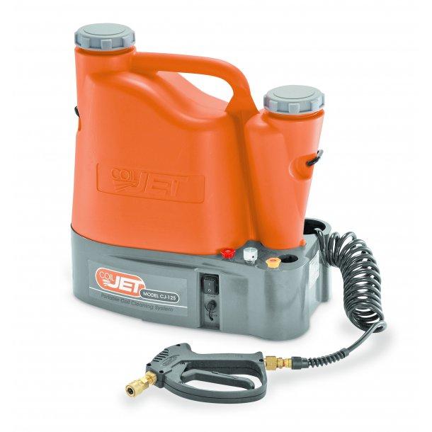 CoilJet super rengøring af kondensatoren/fordamperen, med genopladeligt batteri